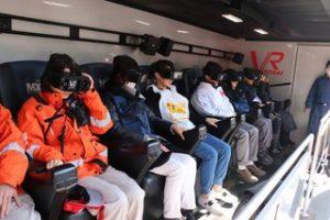 VR disaster simulator